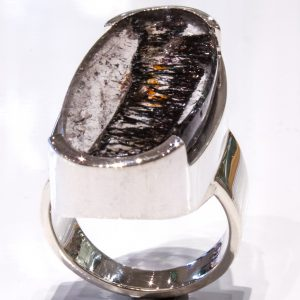 Super Seven Handmade Sterling Silver Ring