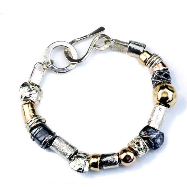 Gold And Silver Handmade Bracelet from Israel