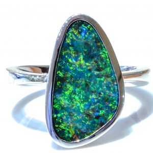Australian Opal Artisan Made Ring