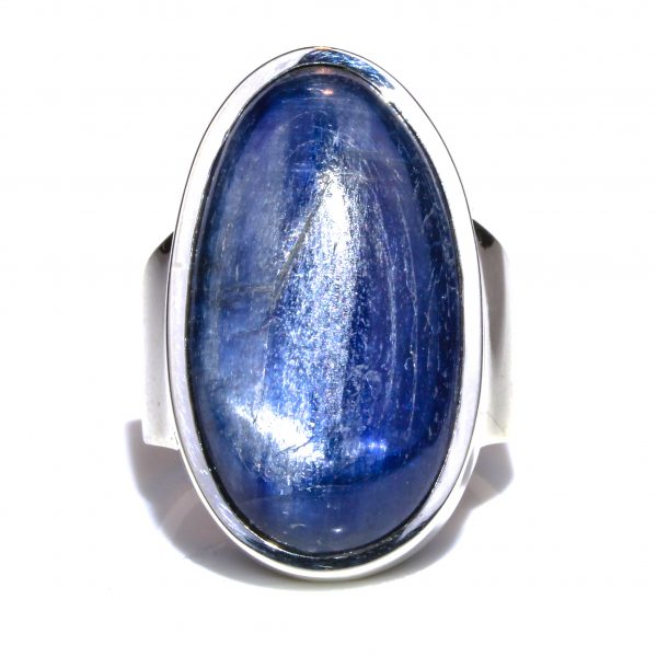 Kyanite Oval Handmade Ring